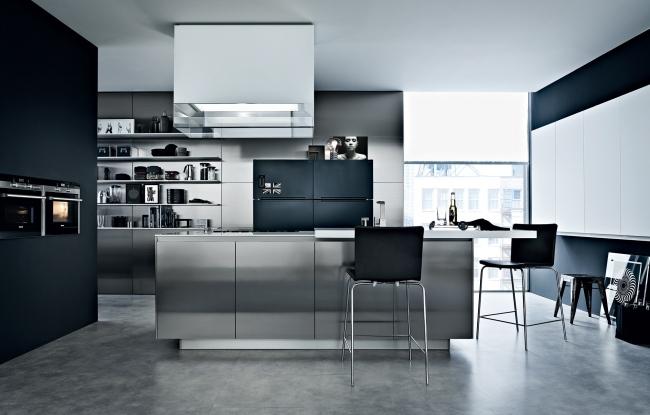 Design Edelstahl Küchen Einfach On Andere In Haus Title Amocasio Com 2