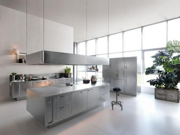 Design Edelstahl Küchen Frisch On Andere In Bezug Auf Haus Title Amocasio Com 4