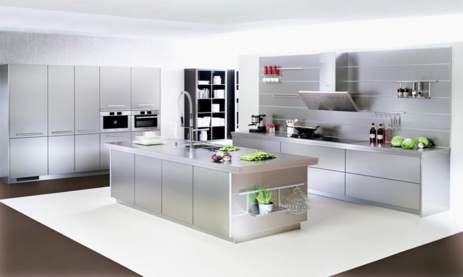 Design Edelstahl Küchen Herrlich On Andere Auf Designerküche Www Kuechenportal De 1