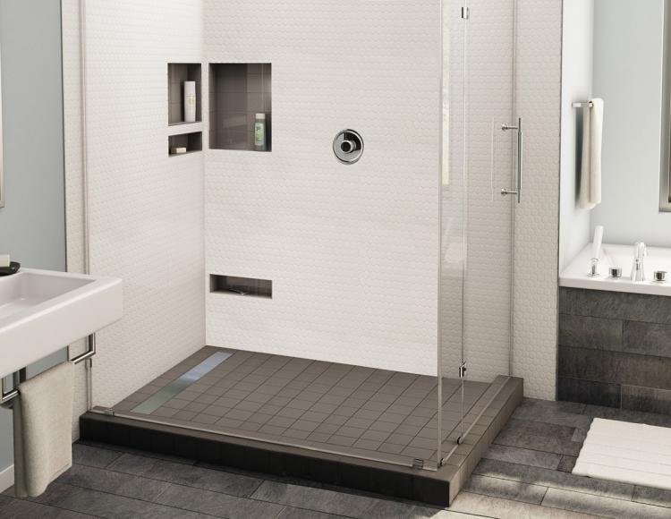 Dusche Fliesen Modern Herrlich On Innerhalb Ebenerdige In 55 Attraktiven Modernen Badezimmern 2