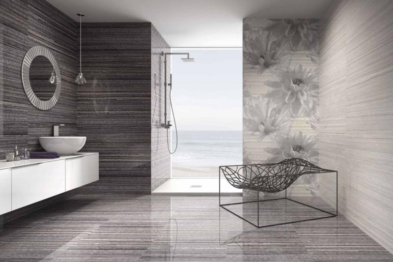Duschfliesen Ideen Zeitgenössisch On In Bezug Auf Bad Mit Dusche Modern Gestalten 31 Ausgefallene 7