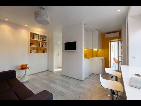 Einraumwohnung Gestalten Herrlich On Andere In Bezug Auf 1 Zimmer Wohnung Einrichten Design 8