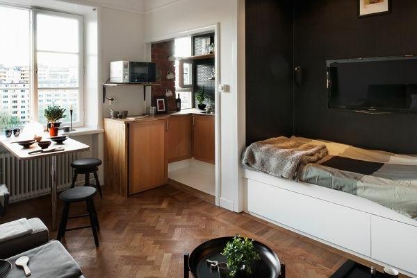 Einraumwohnung Gestalten Interessant On Andere Innerhalb 140 Bilder Einzimmerwohnung Einrichten Archzine Net 5