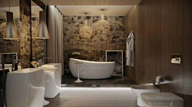 Einrichtung Design Badezimmer Charmant On In Bezug Auf Luxus 6 Originelle Ideen Im Detail 1