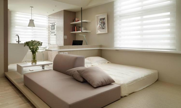 Einzimmerwohnung Einrichten Fein On Andere Mit 1 Zimmer Wohnung 13 Apartments Als Inspiration 2
