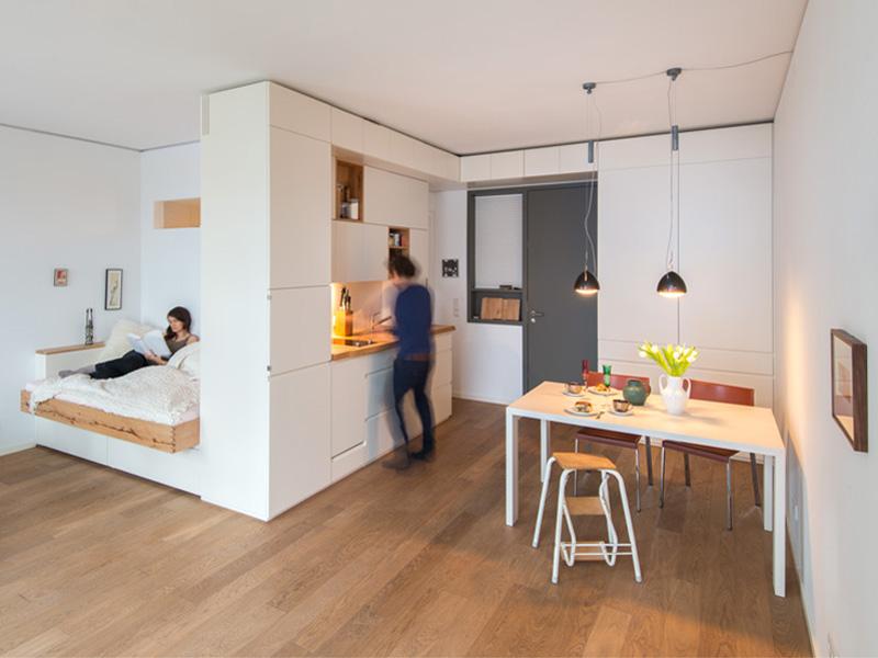 Einzimmerwohnung Einrichten Zeitgenössisch On Andere Beabsichtigt Kleine Wohnung So Kommt Die Groß Raus 7