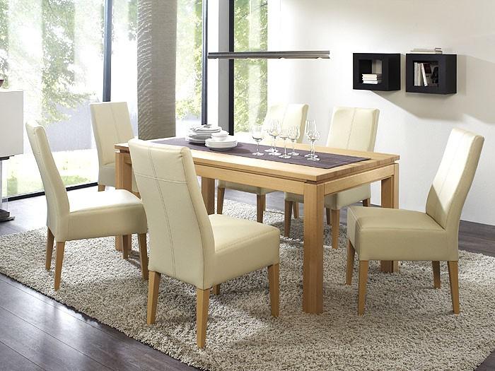 Esszimmer Beige Einfach On Beabsichtigt Umleiten Stuhl Kunstleder 13 Amocasio Com 2