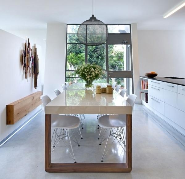 Esszimmer Einrichten Wohnideen Modern On Ideen Auf 105 Für Design Tischdeko Und Essplatz Im Garten 9