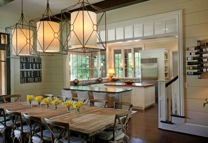 Esszimmer Landhausstil Einrichten Bescheiden On Andere Mit Awesome Im Photos House Design 1