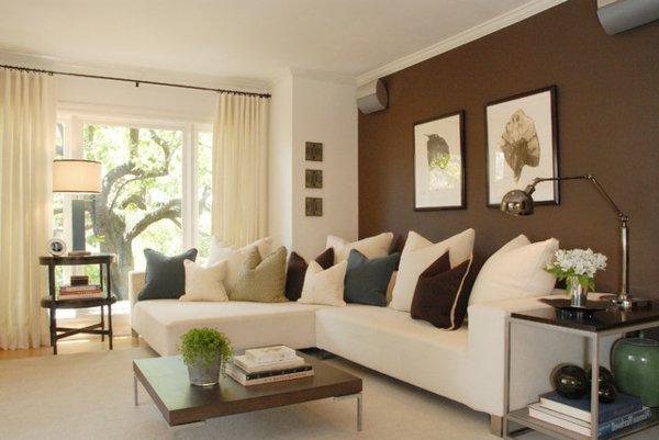 Farbe Für Wohnzimmer Wunderbar On Beabsichtigt Ideal Farben Fürs Wände Farbideen 4 2