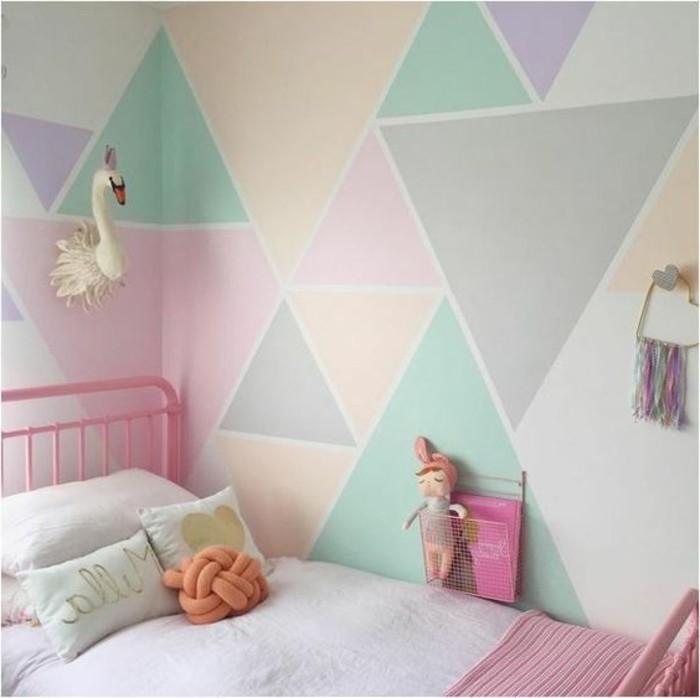 Farbe Wandgestaltung Beeindruckend On Andere überall Geometrische Formen Tolle Mit Archzine Net 6
