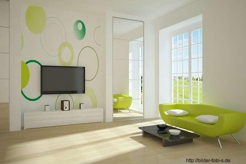 Farbe Wandgestaltung Wunderbar On Andere überall Schön Wohnzimmer 100 Ideen Moderne Möbel Und 4