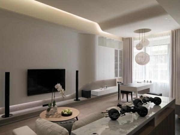 Farben Fürs Wohnzimmer Wände Erstaunlich On Beabsichtigt Wand Design 5