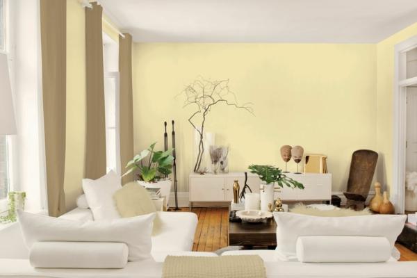 Farben Fürs Wohnzimmer Wände Exquisit On Auf Wandfarbe Zarte Farbnuancen Für Ihre Wandgestaltung 6