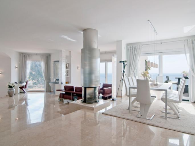 Fliesen Wohnzimmer Modern Einfach On Auf Wohndesign 2017 Cool Attraktive Dekoration 8