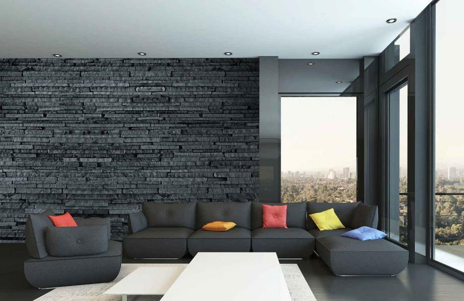 Fototapete Steinmauer Wohnzimmer Erstaunlich On überall Wohndesign 2017 Fantastisch Attraktive Dekoration 9
