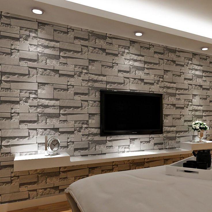 Fototapete Steinmauer Wohnzimmer Schön On überall Ausgezeichnet 3D Tapete Stein Bilder Steinoptik Reiquest Com 3d 4