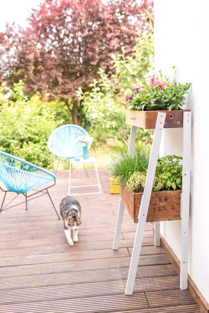 Garage Dekoration Mit Blume Fein On Andere Auf Deko Ernährung 1