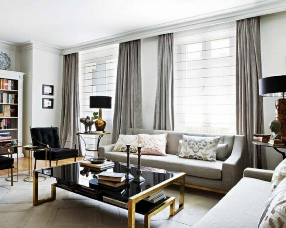 Gardinen Modern Interessant On In Bezug Auf Wohnzimmer ...