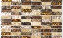 Glasmosaik Fliesen Braun Beige Und Glänzend On Für Mit Usauo Com 0 Bestimmungsort 4