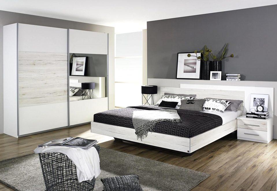 Grau Weiß Schlafzimmer Modern Beeindruckend On Auf Uncategorized Schönes Weiss Und 4