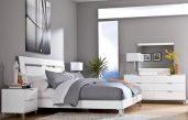 Grau Weiß Schlafzimmer Modern