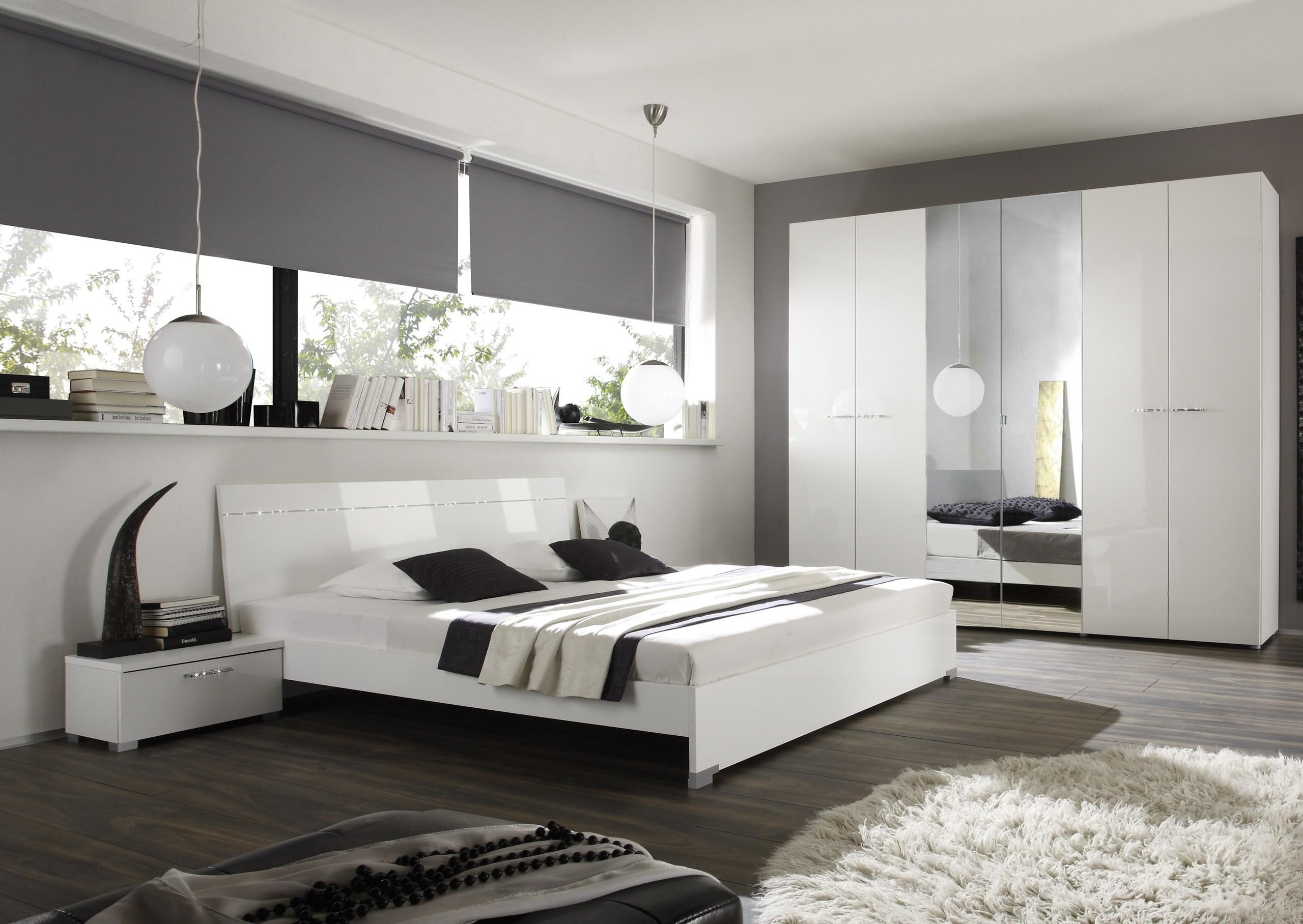 Grau Weiß Schlafzimmer Modern Perfekt On Und Beige Deco Weis Hochste Mit 5