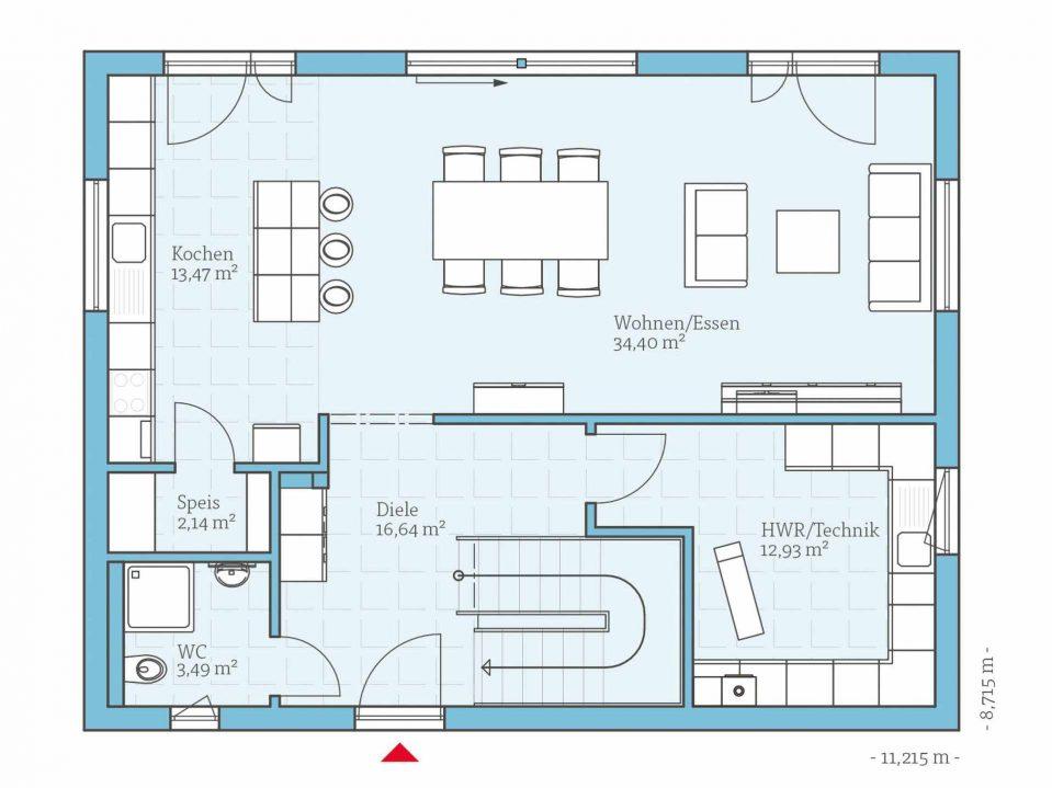 Grundriss Modern Einfach On Innerhalb Uncategorized Tolles Mit Haus 2