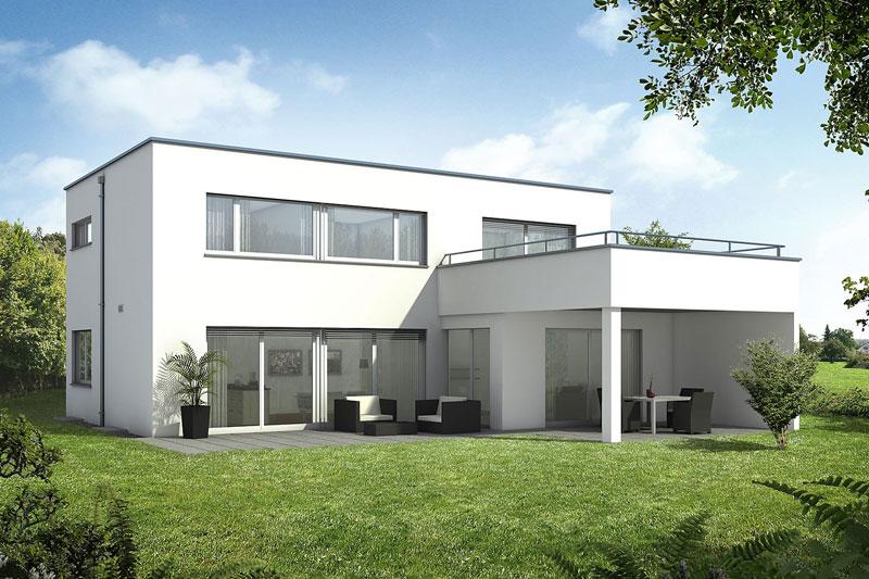 Haus Modern Bauen Bescheiden On Beabsichtigt Was Kostet Ein Hausbau 6