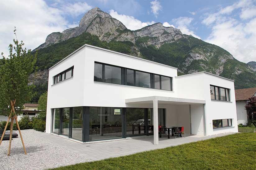 Haus Modern Bauen Charmant On überall Einfamilienhaus Flachdach Gestalten Ideen Mit Glas Fenster 4