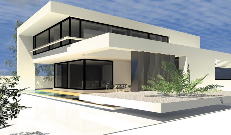 Haus Modern Bauen Imposing On In Moderne Häuser Am Kap Zwenkau Architecture Minimalist 5