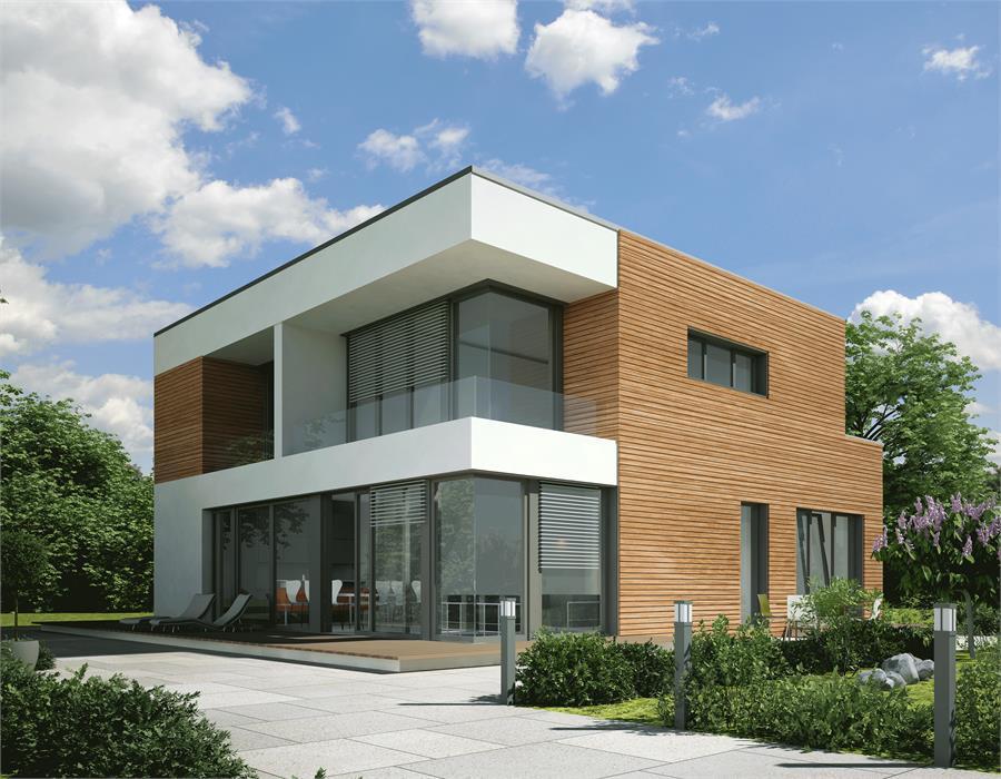 Haus Modern Bauen Nett On In Bezug Auf Holz Emphit Com 8