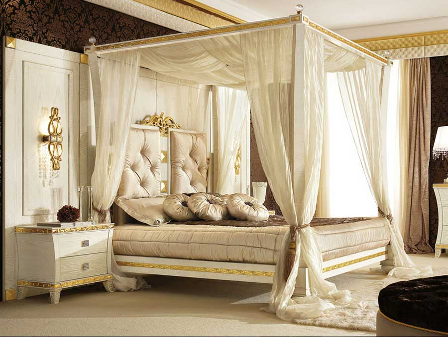 Himmelbett Luxus Glänzend On Andere überall Schlafzimmer Mit Mxpweb Com 2