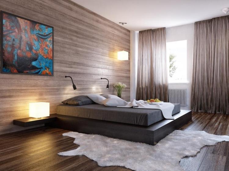 Holzoptik Tapete Ideen Zeitgenössisch On Auf Holz Für Gemütliches Ambiente 24 In 7