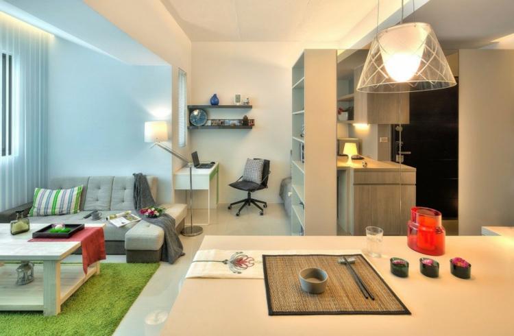 Ideen 1 Zimmer Wohnung Einrichten Herrlich On Für 13 Apartments Als Inspiration