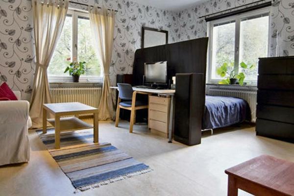Ideen 1 Zimmer Wohnung Einrichten Stilvoll On In Bezug Auf Interessant Einzimmerwohnung 4