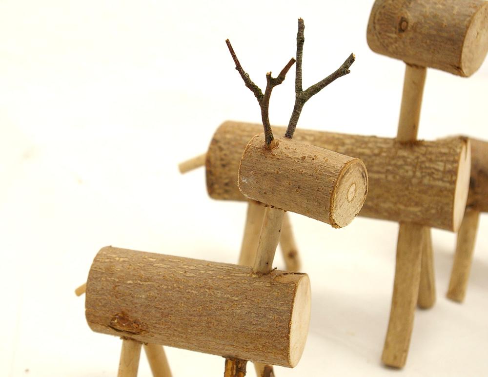 Ideen Aus Holz Zum Selber Machen Nett On Innerhalb Elche Oder Rehe Als Adventsdeko Selbermachen 3