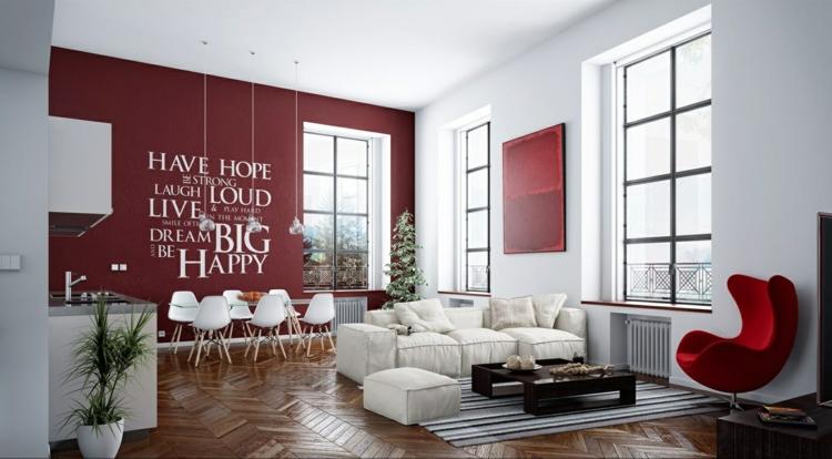Ideen Für Einrichtung Wohnzimmer Nett On Beabsichtigt Modern Einrichten 52 Tolle Bilder Und 6
