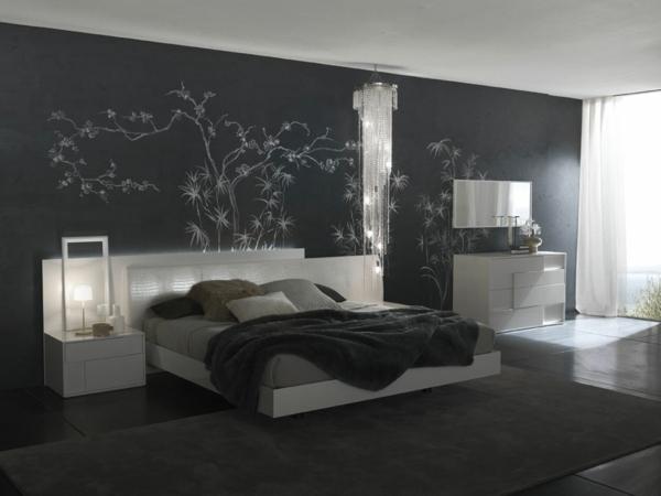 Ideen Für Schlafzimmer Wunderbar On Beabsichtigt Ornament Moderne 5 9