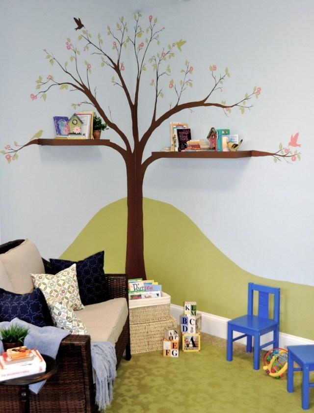 Ideen Für Wände Im Kinderzimmer Exquisit On In Bezug Auf Absicht Wand 1