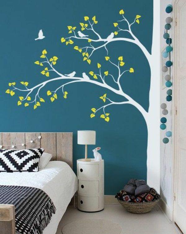 Ideen Für Wände Im Kinderzimmer Exquisit On Und Die Besten 25 Wandgestaltung Mit Farbe Auf Pinterest 6
