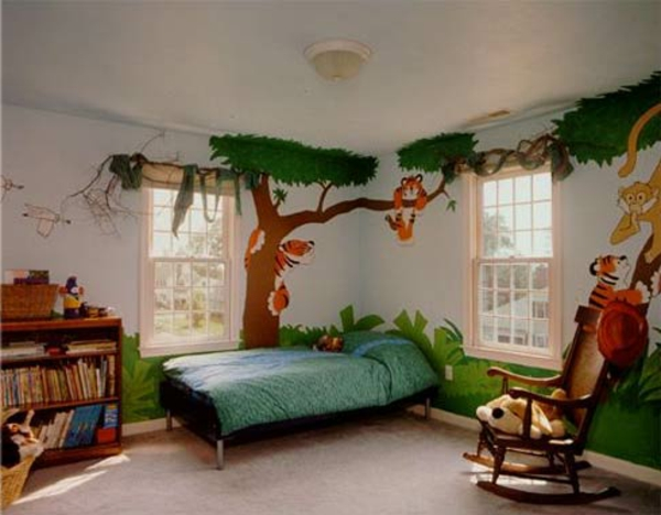 Ideen Für Wände Im Kinderzimmer Frisch On In Arkimco Com 9