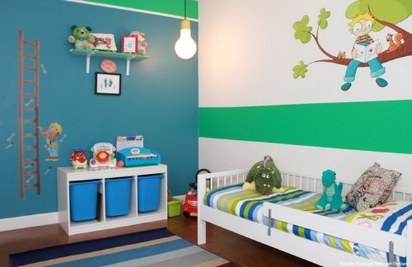 Ideen Für Wände Im Kinderzimmer