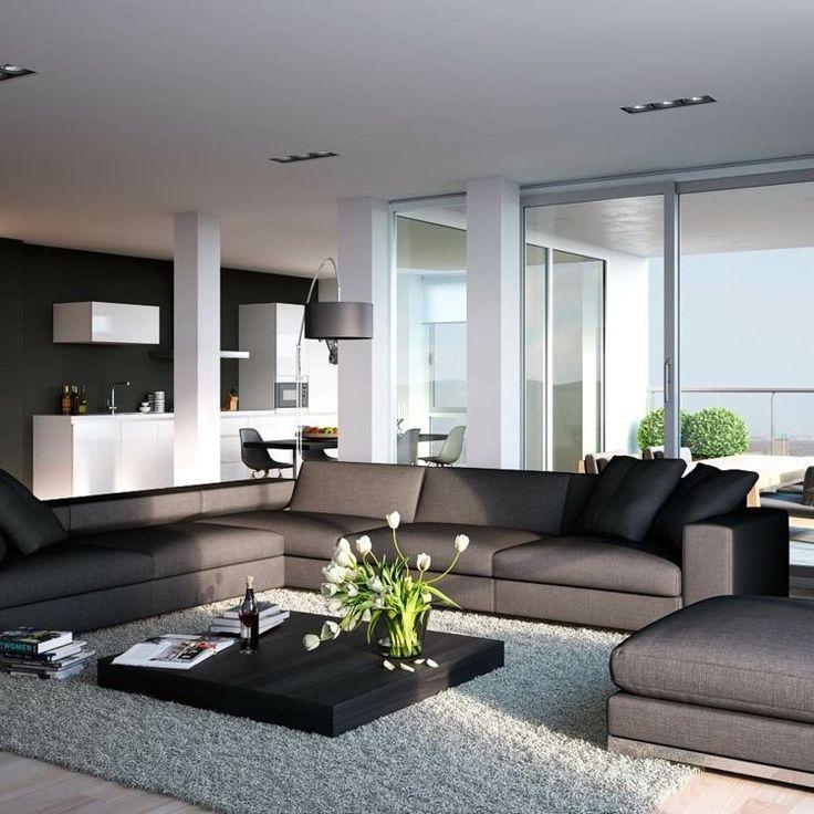 Ideen Modernes Wohnzimmer Charmant On Modern Beabsichtigt Die Besten 25 Moderne Auf Pinterest 3