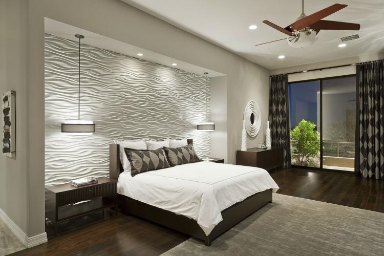 Ideen Schlafzimmer Perfekt On Auf 40 Coole Für Effektvolle Wandgestaltung 4