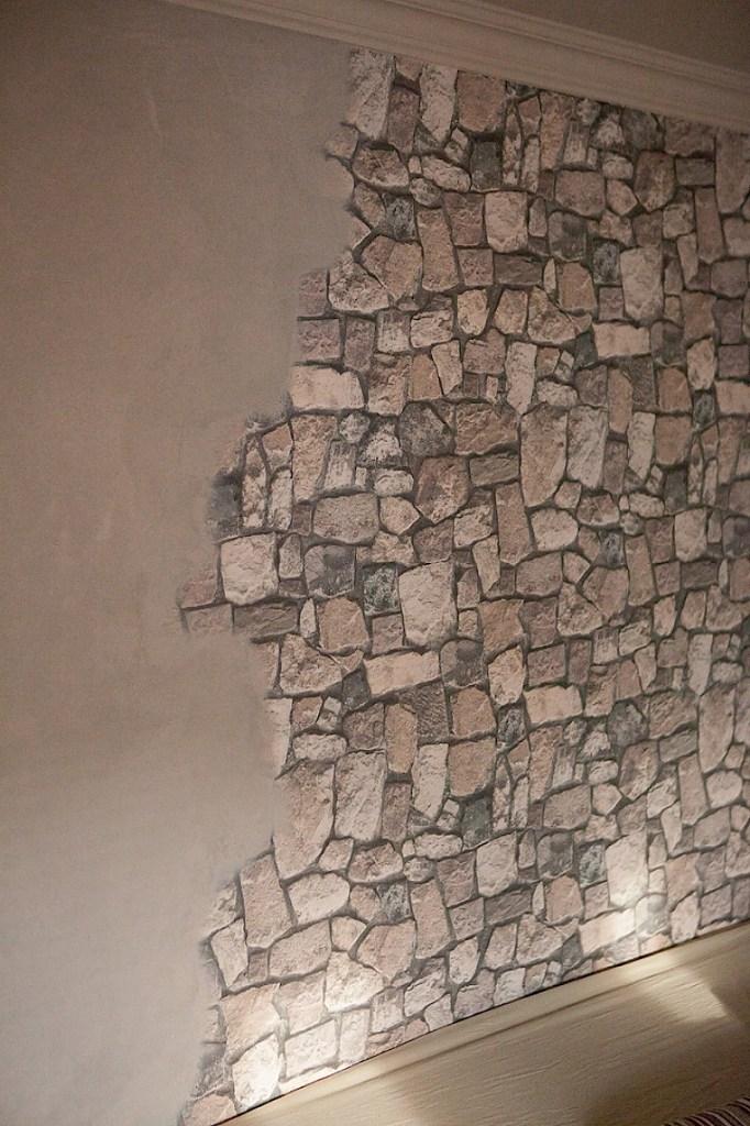 Ideen Steintapete Interessant On Und Bemerkenswert Bilder Obi Wohndesign 5