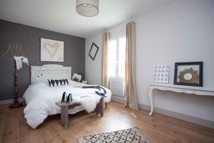 Ideen Wände Gestalten Schlafzimmer Beeindruckend On Mit 65 Wand Streichen Muster Streifen Und Struktureffekte 5