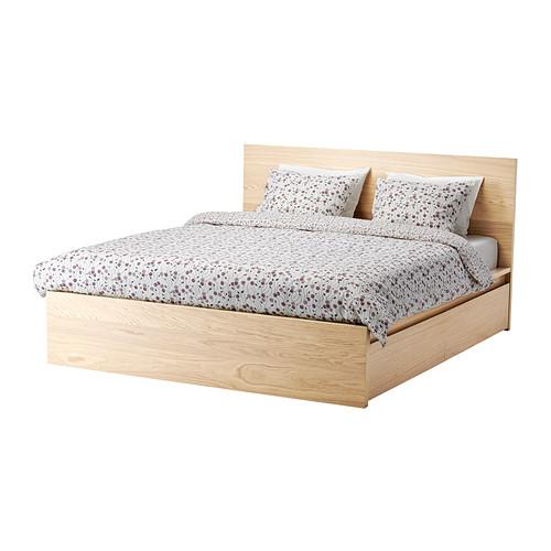 Ikea Bett Einzigartig On Andere In MALM Bettgestell Hoch Mit 4 Schubladen 160x200 Cm IKEA