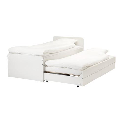 Ikea Bett Herrlich On Andere In Bezug Auf SLÄKT Bettrahmen Unterbett Aufbewahrung IKEA 8