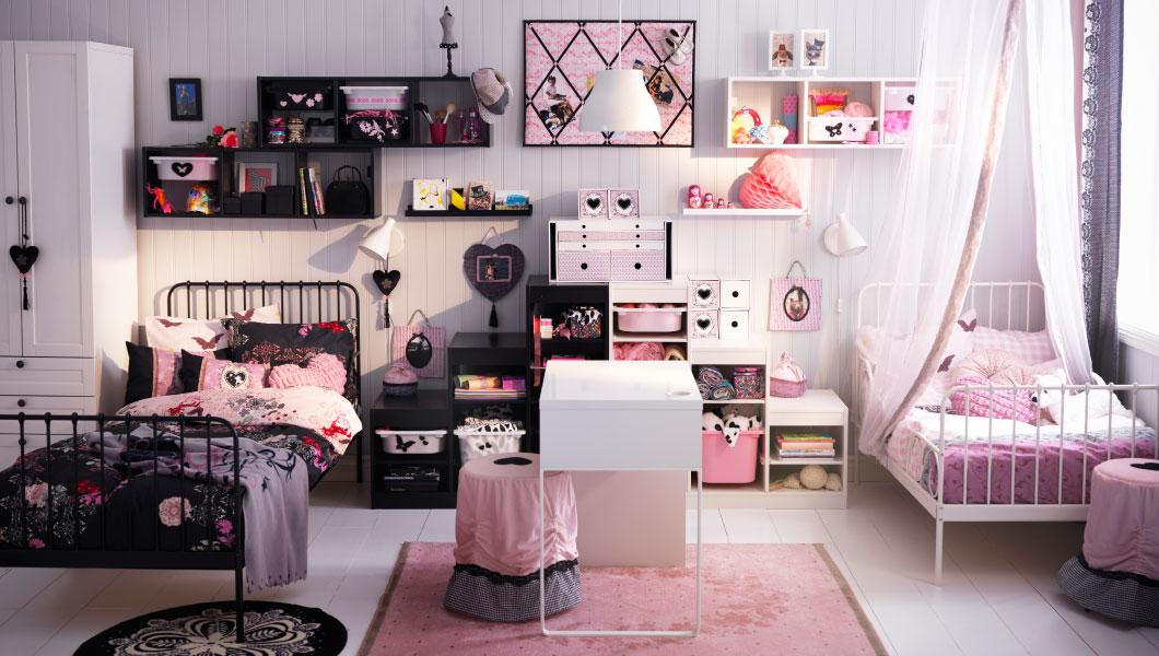 Mädchenkinderzimmer Ikea Bilder